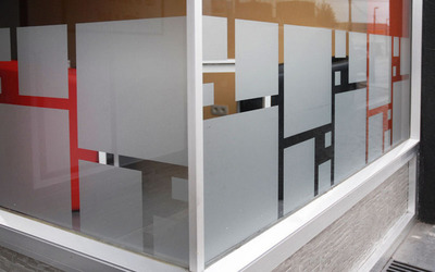 MG Solar & solutions  -   Décoration de vitrine