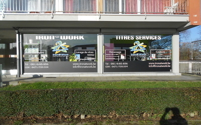 MG Solar & solutions  -   Décoration de vitrine